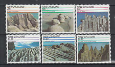 MINT 1991 NEW ZEALAND NZ SCENIC WONDERS LAY CLIFFS,ORGAN PIPES, SET OF 6 MUH