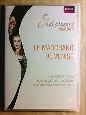 RARE DVD THEATRE BBC / LE MARCHAND DE VENISE /SHAKESPEARE/ WARREN MITCHELL/ NEUF