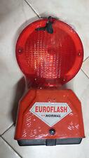 LAMPEGGIATORE LAMPADA SEGNALETICA da cantiere LUCE ROSSA FISSA Euroflash