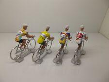 Marco Pantani cycling figurines set miniature Mercatone Uno Bianchi Carrera
