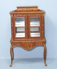 HANSSON DELUXE CABINET WALNUT CA03601HWG  MINIATURE DOLL HOUSE FURNITURE