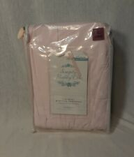 SiIMPLY SHABBY CHIC RACHEL ASHWELL PINK CAL-KING RUFFLED BED SKIRT NIP