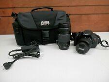 Canon EOS Rebel T3i  Digital SLR Camera (Kit 18-55mm and 75-300mm Lenses) & Bag