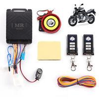 Motorbike Security Alarm bicycle system remote anti-theft remote sensor UK