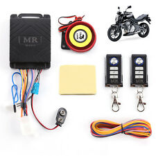 Motorbike Security Alarm bicycle system remote anti-theft remote sensor UK
