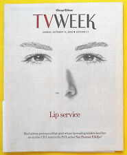 Deanne Bray SUE THOMAS: F.B.EYE Chicago Tribune TV Week guide Oct 13 2002