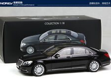 ORIGINAL MODEL,NOREV 1:18,Mercedes-Benz S-CLASS,S550,BLACK
