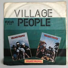 "Village People - Macho Man / San Francisco - 7"" vinyl single - BOLIVIA - rare"