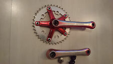 old school TAKAGI Ultra Dyno Crank Set with Tange cv-170 BB and sealed bearings