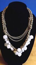 Exquisite Chain and Bead Necklace