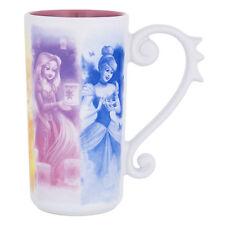 Disney Parks Princesses Dream Tall Latte Ceramic Mug New