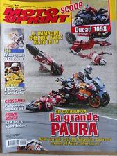 MOTOSPRINT n°25 2006  Test KTM 950 R Ducati 1098- Valentino Rossi Dovizioso[P72]