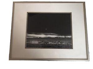 "2 Framed Ansel Adams Lithographs ""Winter Sunrise"" and ""Moonrise Hernandez""  both"