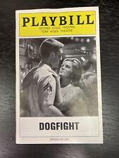 DOGFIGHT July 2012 Off-Broadway Playbill! LINDSAY MENDEZ Derek Klena+! 2nd Stage