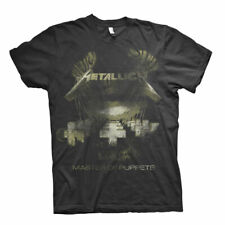 Official Metallica T Shirt Master Of Puppets Distressed Classic Rock Metal Band