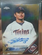 2016 Topps Chrome BYUNG-HO PARK Auto Gold 33/50