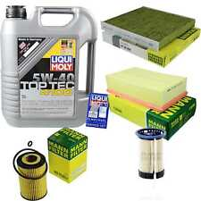 Inspection Kit Filter LIQUI MOLY Oil 5L 5W-40 for Skoda Octavia (III Estate