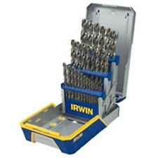 Hanson 3018002 29 Piece Cobalt M-35 Metal Index Reduced Shank Drill Bit Set