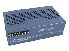 2 Port HDMI SPLITTER V1.4 2160p 2 Way HD Hub Switch Box 4K x 2K 3D HD TV Sky