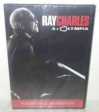 DVD RAY CHARLES - LIVE A L'OLYMPIA - NUOVO NEW