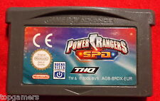 Power Rangers - S.P.D. - Space Patrol Delta - Nintendo Game Boy Advance GBA / DS