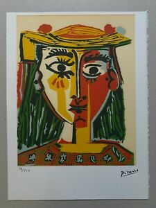 PABLO PICASSO Lithograph Edition 76/250