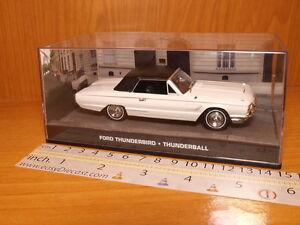 FORD THUNDERBIRD 1:43 THUNDERBALL JAMES BOND 007 CAR