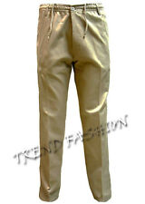 MENS FULLY ELASTICATED WAIST COTTON RUGBY WORKING PANTS TROUSERS WAIST (34 - 48)