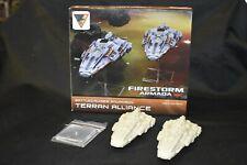 Spartan Games Firestorm Armada - Terran Alliance Battlecruiser Squadron