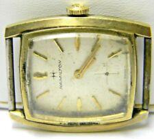 mens Hamilton manual wind antique art deco vintage old watch parts repair 639
