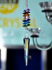 Suncatcher Prisms Pendant Feng Shui Hanging Drop Home Decor Rainbow Maker Gift