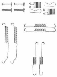 Textar Accessory Kit, brake shoes 97038600 1550203,1893874,8V512A225AA,E4B12A225