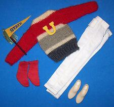 Vintage Ken Doll Complete Campus Hero #770 Sweater Nice No Holes! 1961-1964