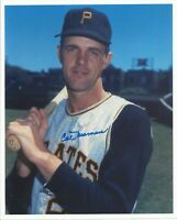 Cal Neeman (Deceased) 1962 Pittsburgh Pirates Signed Autographed 8x10 Photo COA