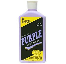 California Custom - Purple Metal Polish 355ml