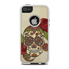Skin for Otterbox iPhone 5/5S - Sugar Skull by Valentina Ramos - Sticker Decal