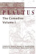 Plautus : The Comedies Volume 1 (1995, Paperback)