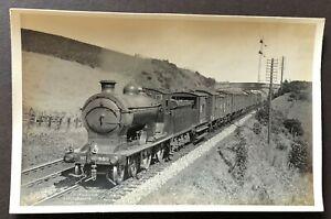 OLD ORIGINAL PHOTOGRAPH POSTCARD LNER GLEN CLASS D34 LOCOMOTIVE NO. 9504