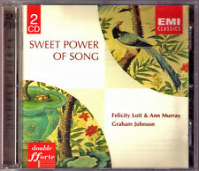 Felicity Lott & Ann Murray: SWEET Power of Song 2cd Beethoven Faure Delibes EMI