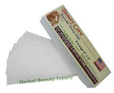 100  Hair Removal Waxing Wax Strips Epilator Depilatory Salon Best Quality
