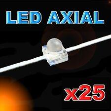 371/25#LED axial 1,8mm orange  25pcs