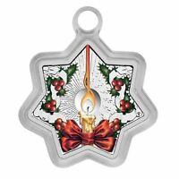 Christmas Tree 1oz Silver Star Shaped Proof $1 Coin (2016)