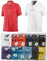 0958 NWT OAKLEY ELEMENTAL GOLF POLO SHIRT MEN'S CASUAL O HYDROLIX™ TOP XXL 2XL
