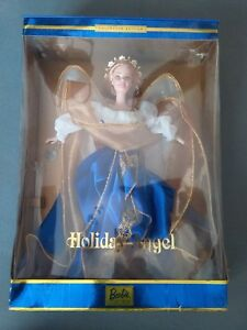 Collector Edition Barbie Holiday Angel Doll Mattel 2000 1st in Series NIB NRFB