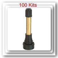 100 Kits TR602HP High Pressure Tire Wheel Valve Stems