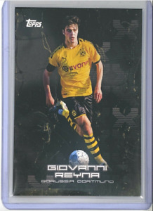 2020 Topps BVB Curated Set Giovanni Gio Reyna Dortmund True Rookie #15 RC MINT!!