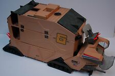 Hasbro GI Joe 1987 MOBILE COMMAND CENTER Complete with STEAM ROLLER Figure