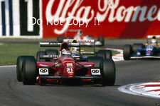 JJ Lehto Scuderia Italia Dallara BMS-192 italian grand prix 1992 Photo