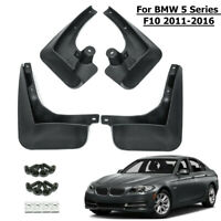 Front Rear Mud Flaps Splash Fender Guard Mudguard For BMW 5 Series F10 2011-2016