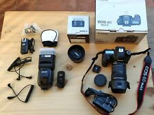 Canon EOS 6D Mark II + 2 Objetivos Canon (24-105 y 50 mm) + Flash Neewer 565 EX